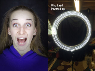BUILD A DIY LED RING LIGHT